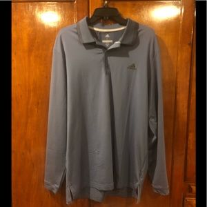 Adidas Golf Ultimate L/S Thermal Polo